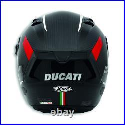 Ducati Vitesse Evo Casque Intégral Noir/Rouge Casque de Moto Casque Neuf