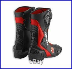 Ducati tcx Bottes Sport Noir/ Rouge Bottes de Moto Neuf