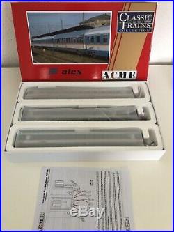 Échelle H0 ACME 55231 Set de Wagons Alex CD Bmz / Bomz EP VI 3-Teilig Neuf