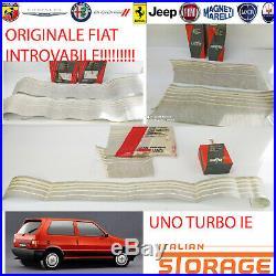 Ein Turbo 1.3 Ie Kit Autocollant 7 Pièces Noir Écrit Rouge Neuf Original 7606562
