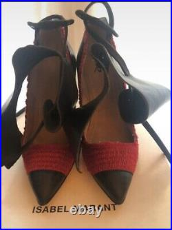 Escarpins Isabel Marant Gava Gwen Show Shoes Rouge Rares T. 36 NEUFS