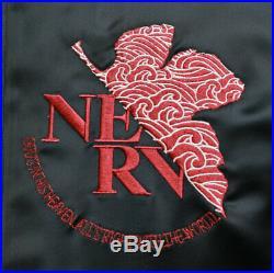 Evangelion X Nishiki Unité 02 Sukajan Souvenir Veste Noir X Rouge Taille XL Neuf
