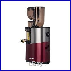 Extracteur de Jus BIOCHEF Atlas Whole PRO 400W Rouge NEUF