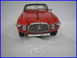 FERRARI 212 inter coupé VIGNALE 1953 rouge/noir 1/18 Matrix modélisme NEUF