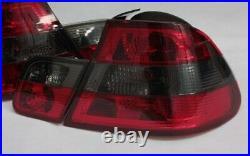 Feux Arrière Pour BMW E46 3er Coupé 99-03 Vorfacelift Rouge Fumee Noir Neuf