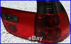 Feux Arrières Ensemble BMW E53 X5 99-03 ROUGE NOIR SMOKE CRISTAL NEUF