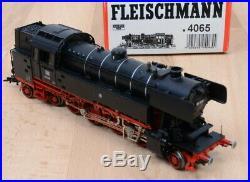 Fleischmann 4065 Locomotive-Tender Br 65 018 De DB / Numérique / comme Neuf /