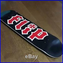 Flip Planche Skateboard Équipe Hkd Noir Taille 7.75 Rouge Logo avec Jessup Neuf