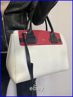Furlasac Cuir Box Rouge Noir Et Blanc Etat Neuf Avec Dustbag