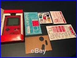 Gameboy Poche Rose Vert Jaune Rouge Violet Noir Japon Import Neuf en Boîte