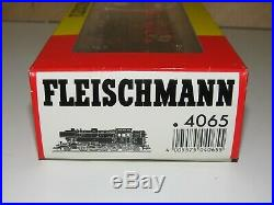H0 Fleischmann 4065 Locomotive à Vapeur Br 65 018 DB comme Neuf Emballage 6645