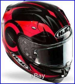 HJC RPHA 10 Plus FURIA Casque de MOTO intégral Taille L 100% NEUF Noir / Rouge +