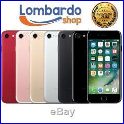 IPHONE 7 Remis à Neuf 32GB Niveau A Blanc Noir or Rose Rouge Apple Régénéré