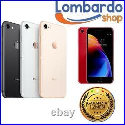 IPHONE 8 Remis à Neuf 64GB Niveau B Blanc Noir Or Rouge Apple Régénéré
