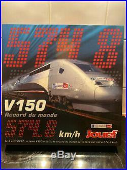 Jouef hj2058 V150 Record du monde SNCF Neuf