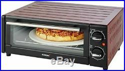 KORONA Four à pizza, 15l, 1300W - 57000 noir/rouge NEUF