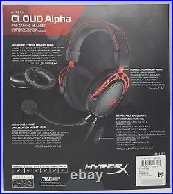Kingston HyperX Cloud Alpha Pro Gaming Casque, Noir/Rouge Neuf & Ovp, Revendeur