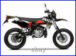 Kit deco KUTVEK Yasuni Factory rouge/noir MBK X-Limit/Yamaha DT50 NEUF