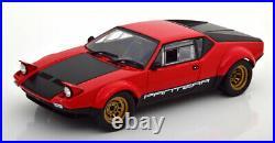 Kyosho 1972 de Tomaso Pantera GT4 Rouge/Noir en 1/18 Échelle Neuf Sortie