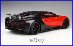 Kyosho 2016 Bugatti Chiron Sport #16 Rouge/Noir 1/12 Échelle Neuf Sortie le De