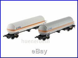 L. S. Models 30758 SNCF Wagon-Citernes Jeu 2 Pièces Uas Blanc & Gris Ep. 6 Neuf+