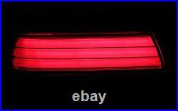 LED Béquille Feux Arrière Kit BMW 5er E39 Berline Noir Fumee Rouge Lightbar Neuf
