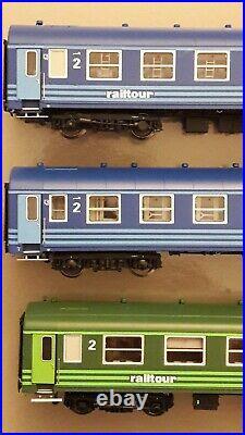 LS Models World 1903 I5 Bc10 I4 B9 proto Railtour SNCB NMBS Ep. IV neuf