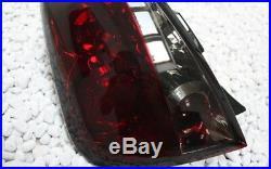 Lot de Feux Arrière Fiat 500 Ab 2007 Berline avec Hayon Rouge Noir Fumée Neuf