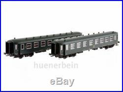 Ls Models 42115 Sncb Personenwg-Set 2x I2B 2. Klasse Vert/Gris Ep. Ivc H0 Neuf+