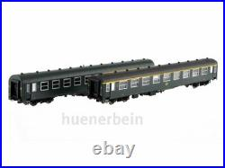 Ls Models 42159 Sncb Personenwg-Set 2x I4 1 2. Kl. Vert/Gris Epiii H0 Neuf + Ovp