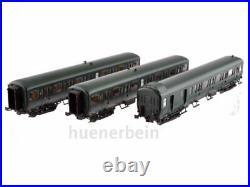 Ls Models 42177 3er Jeu Sncb 2. Kl. Voiture de Tourisme Nord Belge Vert Ep4 Neuf+