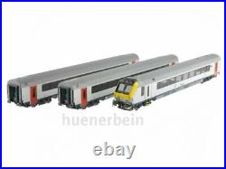 Ls Models 43047 Jeu Sncb I11 2x 2. Kl Automotrice Blanc/Rouge/Bleu Ep6 Neuf+
