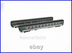 Ls Models 47272 SBB 2tlg. Voitures Jeu 2. Kl. B 21-73 Vert + Gris Ep6 Neuf + Ovp