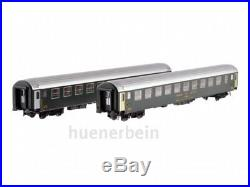 Ls Models 47327 2x SBB Cff Ffs 2. Kl. Couchettes Uic-X Bcm Vert Ep4 Neuf + Ovp