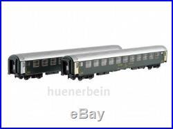 Ls Models 47328 2x SBB Cff Ffs 2. Kl. Couchettes Uic-X Bcm Vert Ep4 Neuf + Ovp