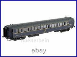 Ls Models 49213 Ciwl Schlaf-Wagen Type Wl Zt Bleu/Gris Ep2 Monogram Limit Neuf+