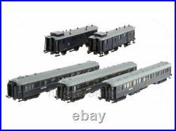 Ls Models MW1004 Ciwl Train 5 Wagen Train Bleu Calais San Remo Ep. Ii Neuf