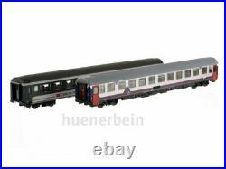 Ls Models/Pirata 97022 P SBB / Sncb Iris Jeu Uic-X + I6 Wagen Memling Ep5 Neuf+