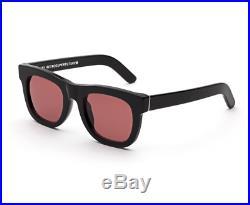 Lunettes Super- par Ciccio Retrosuperfuture Bordeaux Sunglasses Neuf