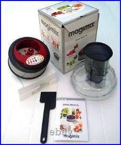 MAGIMIX ACCESSOIRES Robot Multifonction COOK EXPERT LOT 5 COFFRETS 100% NEUF