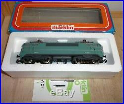 Märklin H0 3038 E Locomotive Br Bb 9223 la SNCF en Turquoise État Neuf Éprouvé