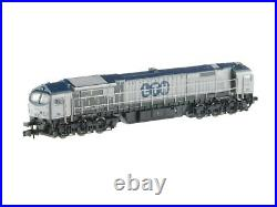 Mehano 58859 Lth 6achsige Locomotive Bluetiger Argent/Bleu Ep5 1160 Neuf+