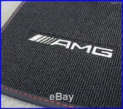 Mercedes Benz AMG Orig. Fussmatten X 117 Cla Shooting Brake Rhd Noir/Rouge Neuf
