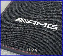 Mercedes Benz AMG Tapis de Sol Original C 117 Cla Classe Coupé Noir/Rouge Neuf