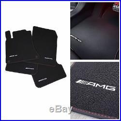 Mercedes Benz AMG Tapis de Sol Original Noir/Rouge W 246 Classe B LHD Neuf Ovp