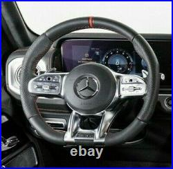 Mercedes-Benz OEM G 63 AMG 2019 W463 Sport Cuir Direction Roue Rouge Rayure Neuf