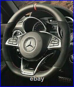 Mercedes-Benz OEM R172 SLC Classe Rouge Art Édition Bordure Direction Roue Neuf