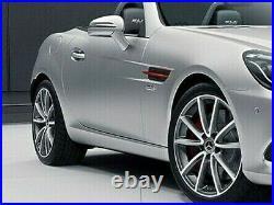 Mercedes-Benz OEM SLK & SLC Classe Rouge Art Édition Côté Grilles R172 Neuf