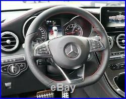Mercedes-Benz OEM W253 Glc AMG 300 Sl Rouge Couture Volant Cuir Neuf