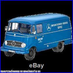 Mercedes Benz Transporter L 319 Service Bleu 118 Neuf Emballage Scellé